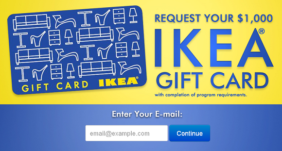Free 1000 Ikea Gift Card With Images
