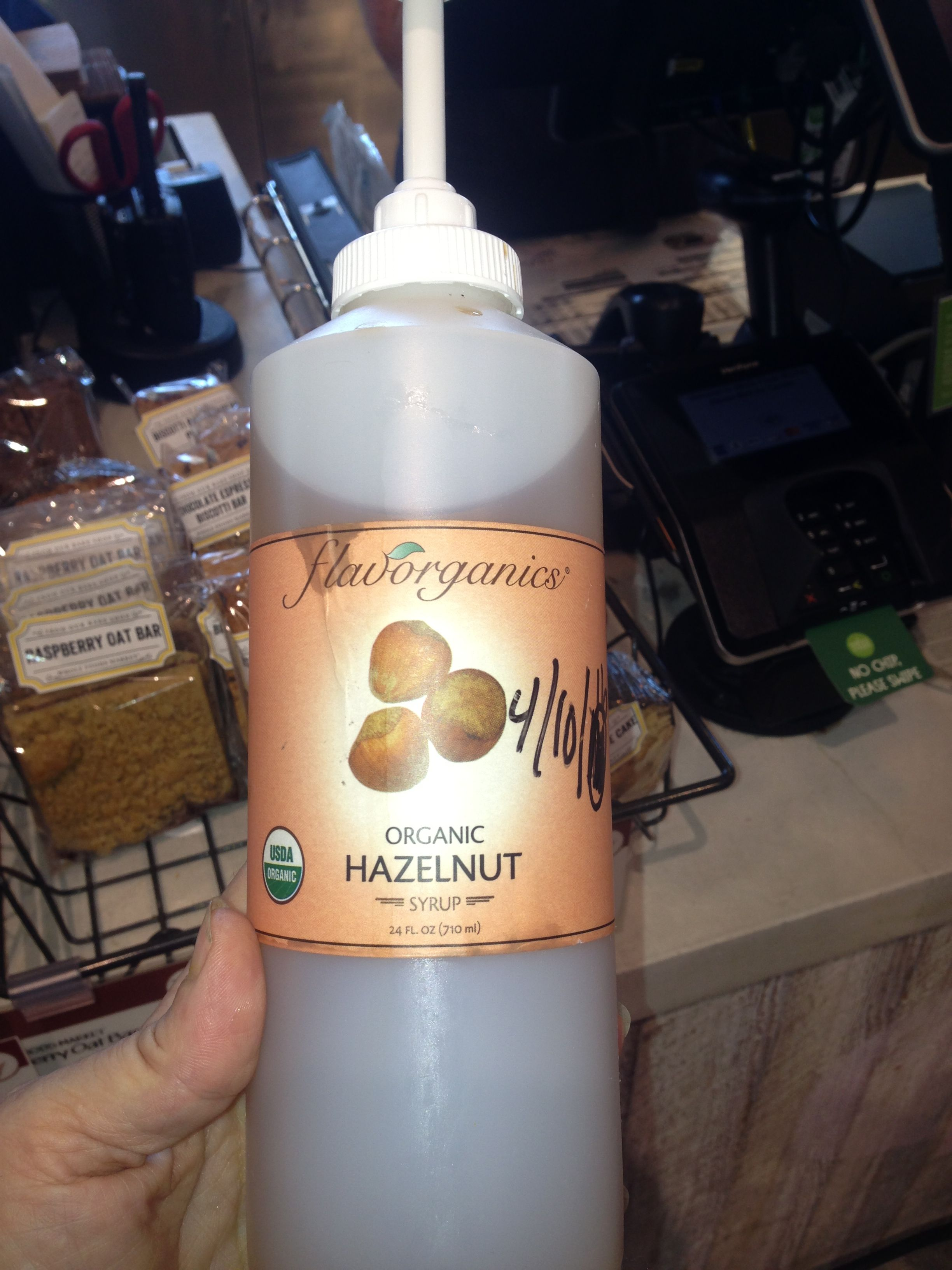Flavorganics syrups