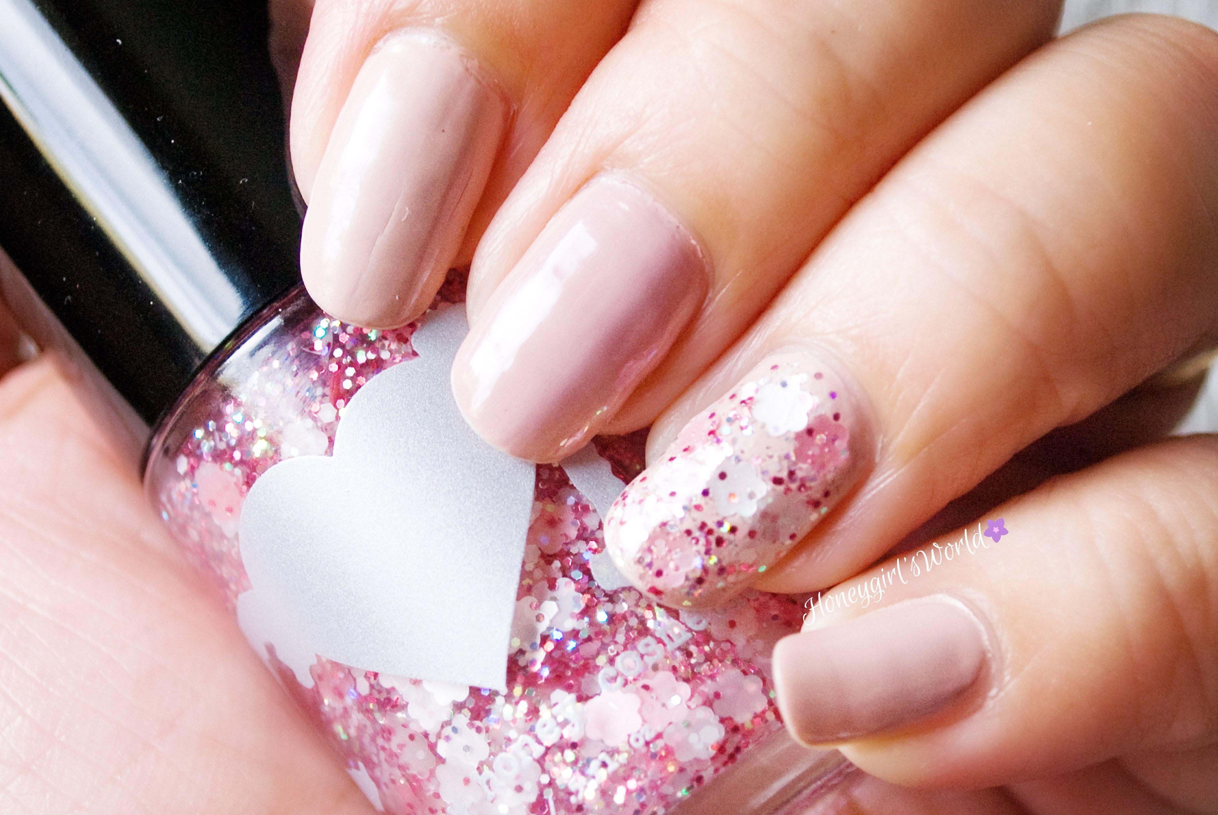 Nails of the Day - Cherry Blossom Love feat. Rainbow Honey | Hair ...