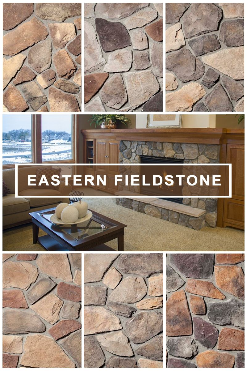 Eastern fieldstone irregular full faced pieces continue to impress with a variety of shapes and colors