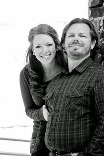 Black and White Engagement Photo  #SchererStyle