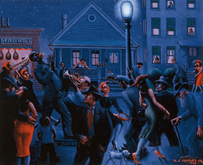 Archibald Motley Jazz Age Modernist Archibald Motley Black Artists Harlem Renaissance