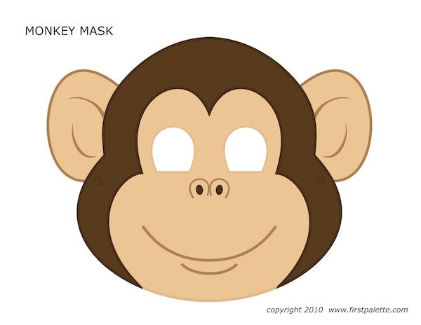 Animal Mask Craft Clipart