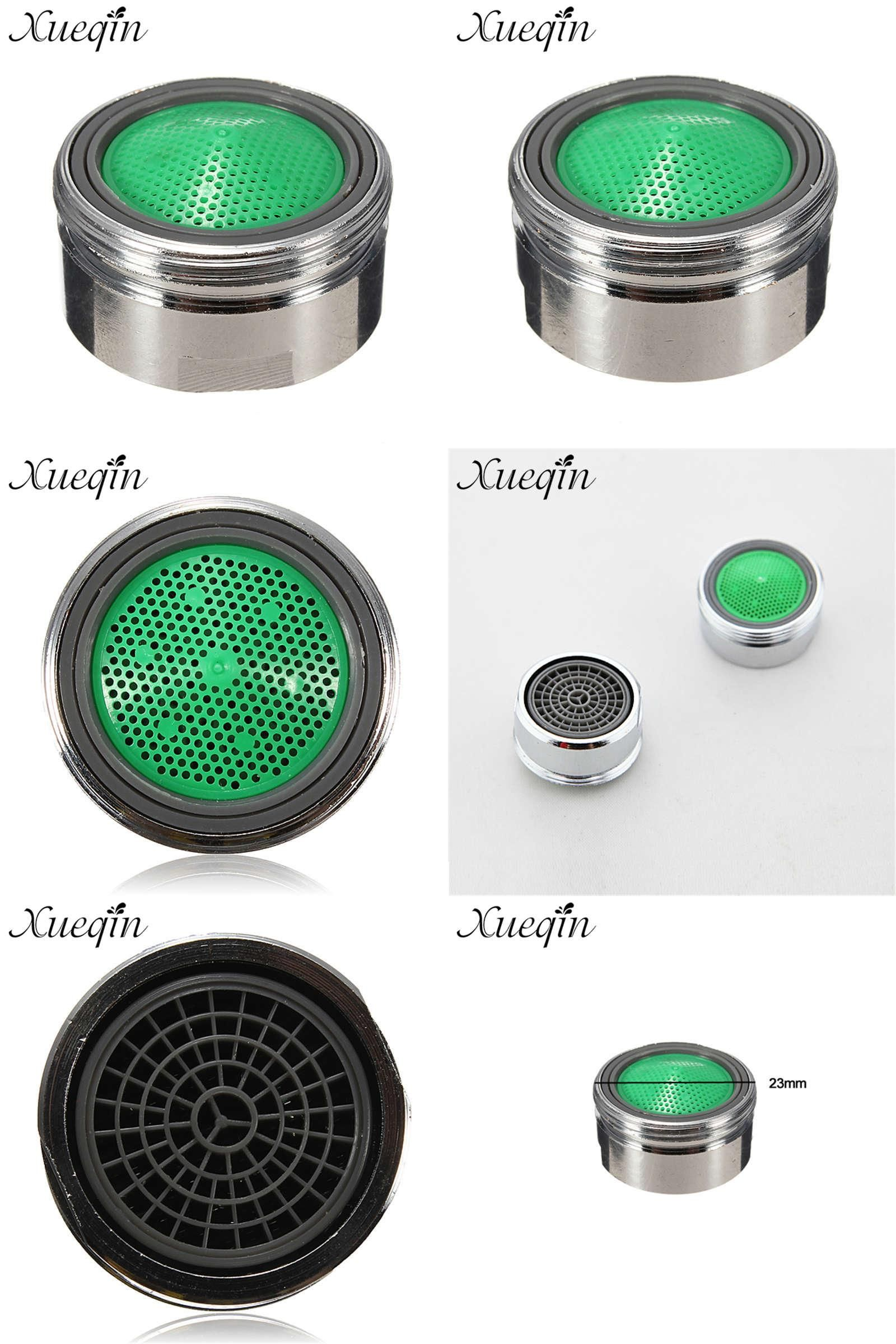 Visit To Buy Xueqin 23mm Male Connector Chrome Plated Brass Faucet Tap Aerator Water Saving Aerator Bathroom Brass Faucet Faucet Accessories Chrome Plating [ jpg ]