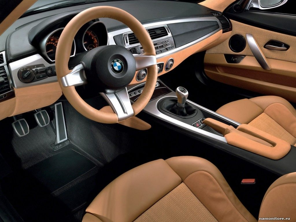Car interior brown - Brown Leather Car Interiors Brown Leather Salon Bmw Z4 Coupe Concept
