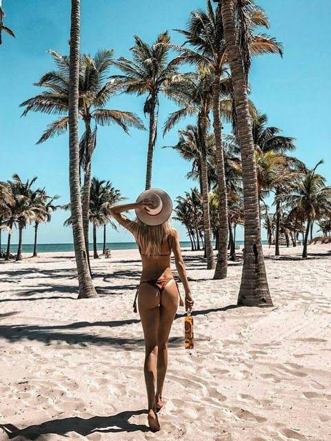 Fotos na Praia: Poses para copiar nesse Verão