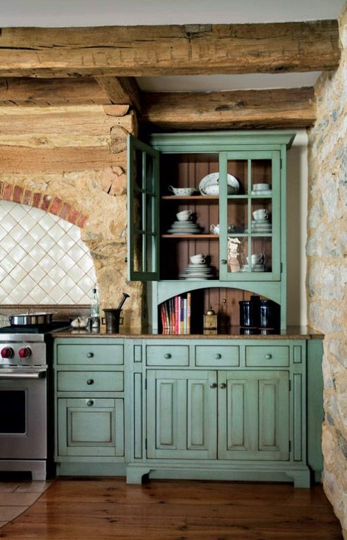 Primitive Colonialinspired Kitchen  Primitive Kitchen Extraordinary Period Kitchen Design Design Decoration