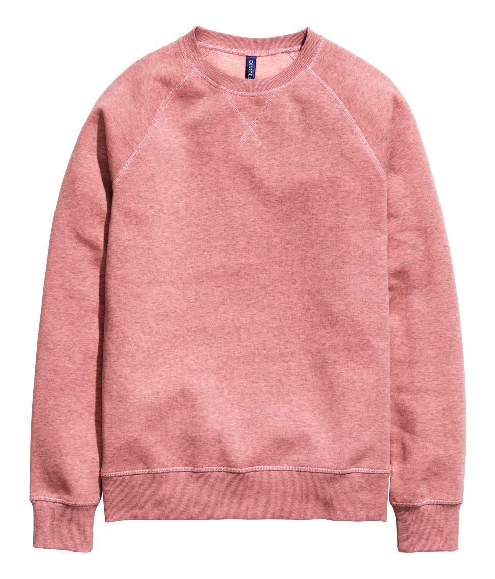 7e2819b33f9e Salmon long-sleeved sweatshirt with soft