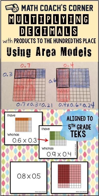 multiplying decimals with products to the hundredths using area models math ideas. Black Bedroom Furniture Sets. Home Design Ideas