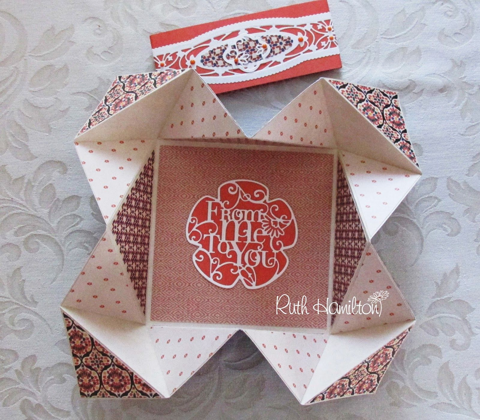 A Passion For Cards Moroccan Spice Multi Fold Card With