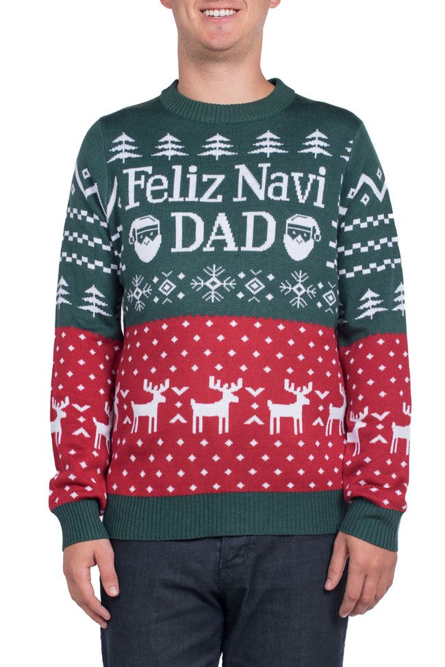 A Dad is for Life Not Just for Christmas Shirt Dad Ugly Christmas Sweater Christmas is Better with Dad