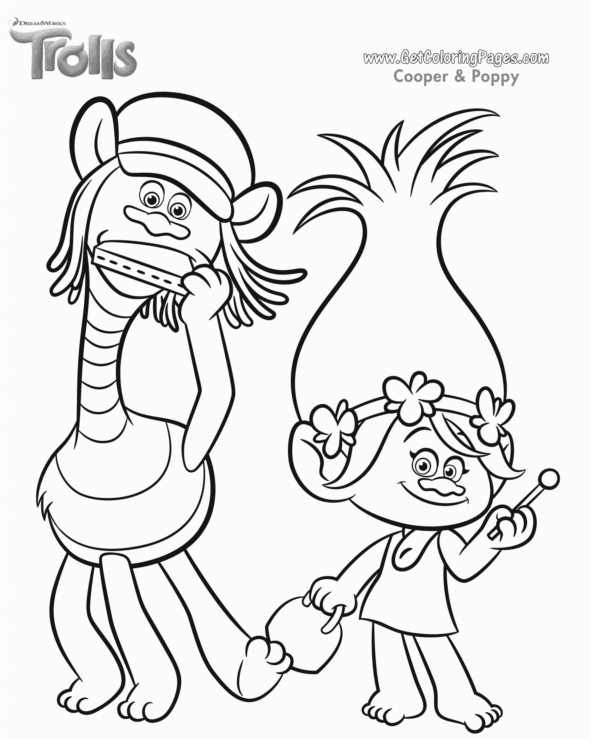 Trolls Coloring Pages To Download And Print For Free Poppy Coloring Page Coloring Pages Cartoon Coloring Pages