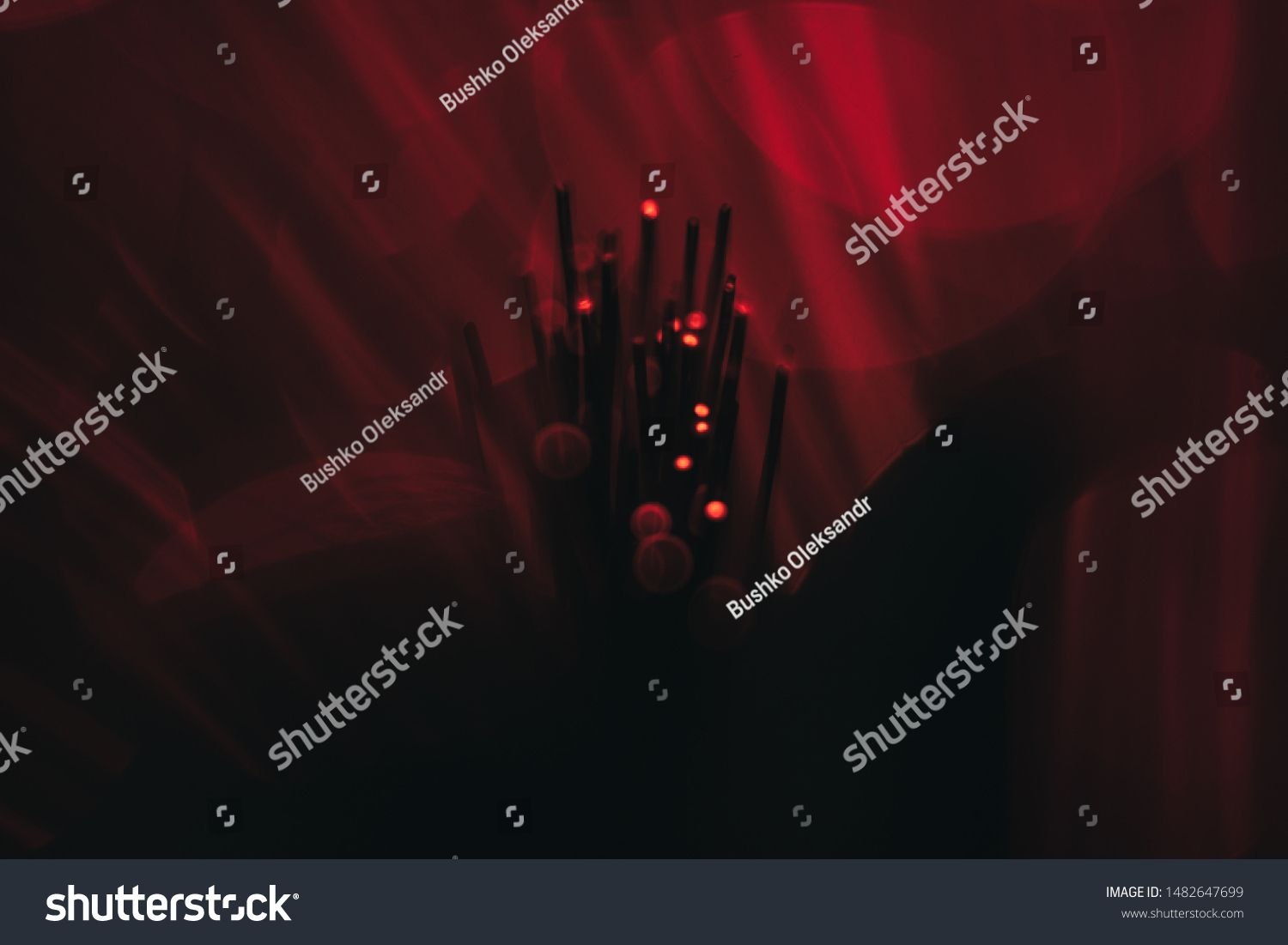 Beautiful Abstract Fiber Optical Network Cable On A Red Glow Background Ad Ad Fiber Optical Beautiful Abstract Network Cable Networking Abstract