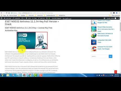 eset nod32 full activation key