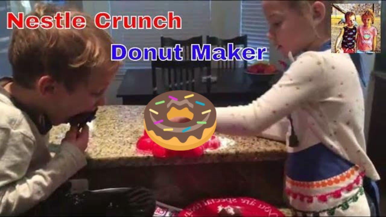 Nestle Crunch Donut Maker donuts nestlecrunch