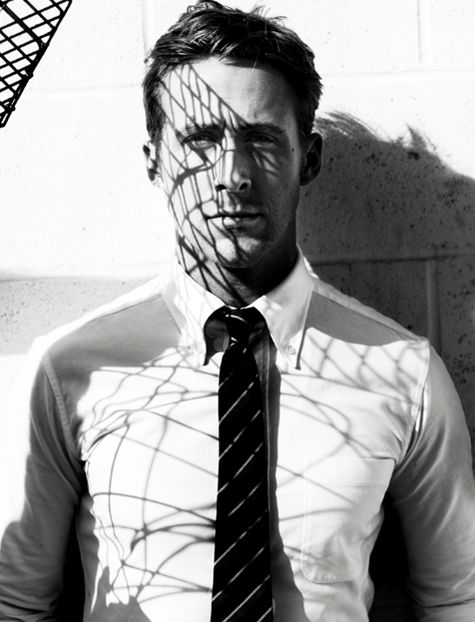love this shoot from GQ.. awesome use of shadows.