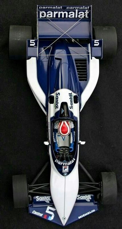 Another incredible Gordon Murray design. 1983 Brabham BT52-BMW turbo ...