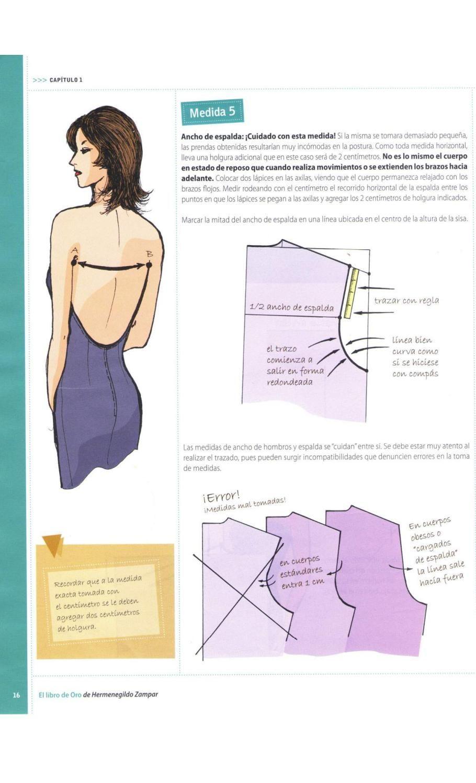 003 el libro de oro pdf | Amor por la costura. | Pinterest | Costura ...