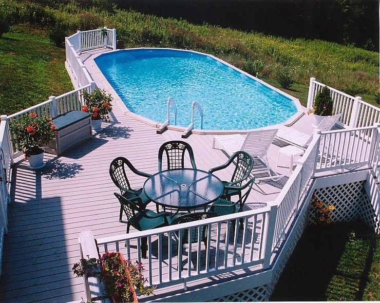 Above Ground Pool In Grand Rapids Ft Doughboy Pools