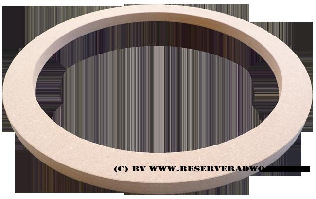 Mdf Ring Holzring 19mm Fur 380 Mm 15 38 Cm Lautsprecher Holzring Holz Ringe
