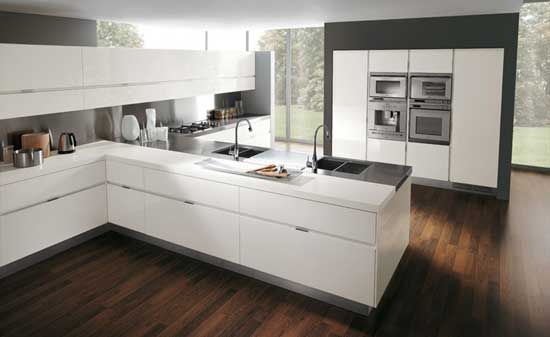 Modern White Kitchen Design new zen kitchen design and photos the small kitchen design and