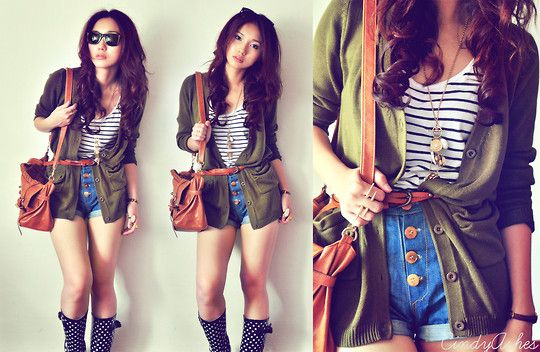 These boots got me thru the sunshine, (by Cindy Ashes) http://lookbook.nu/look/1875634-these-boots-got-me-thru-the-sunshine