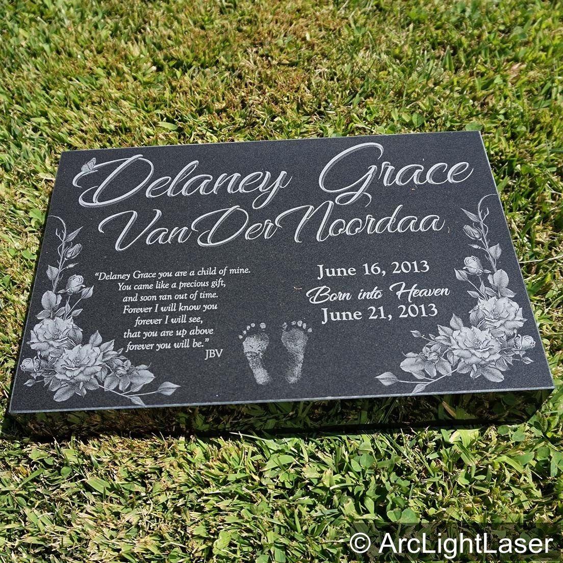 24x12x2 Granite Memorial Marker Custom Memorial Headstone Etsy Memorial Markers Granite Memorial Headstones