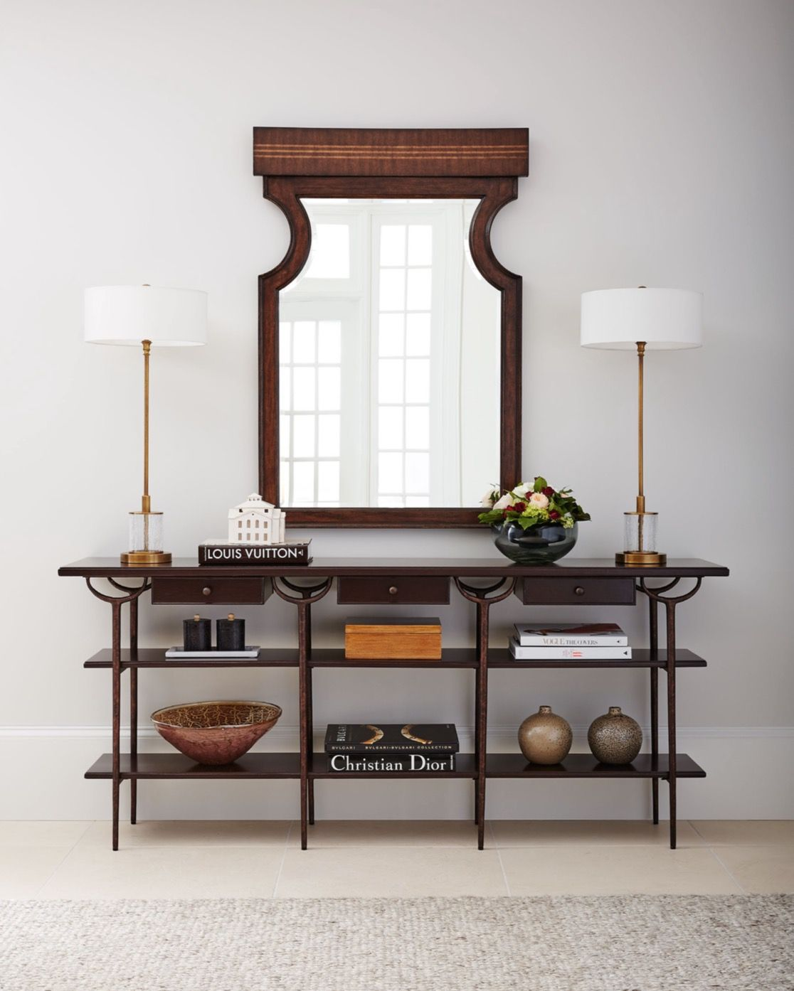 Stanley S Villa Couture Collection Transitional Console Tables  ~ Transitional Sofa Tables