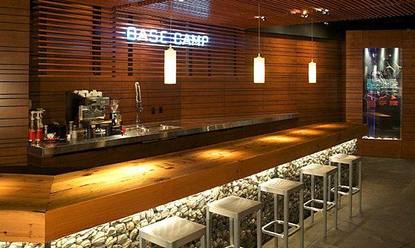 10 Inspiring Restaurant Bars With Modern Flair Bar Design Restaurant Home Bar Designs Coffee Bar Home