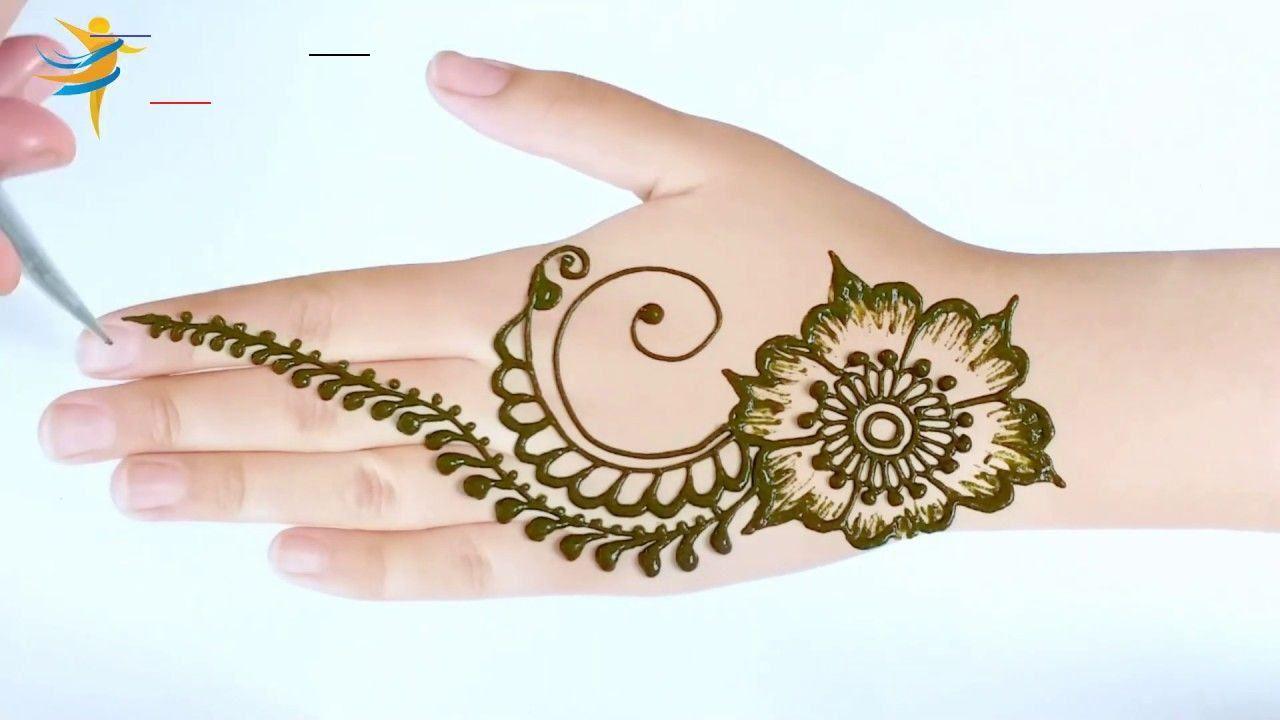 Easy Arabic Henna Mehndi Design For Hands Very Easy Learn To Apply Mehndi Arabichenna