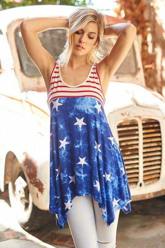 67ec7969b8cc6d Stars and Stripes Tunic