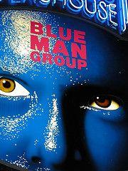 Image: Blue Man Group, found on flickrcc.net