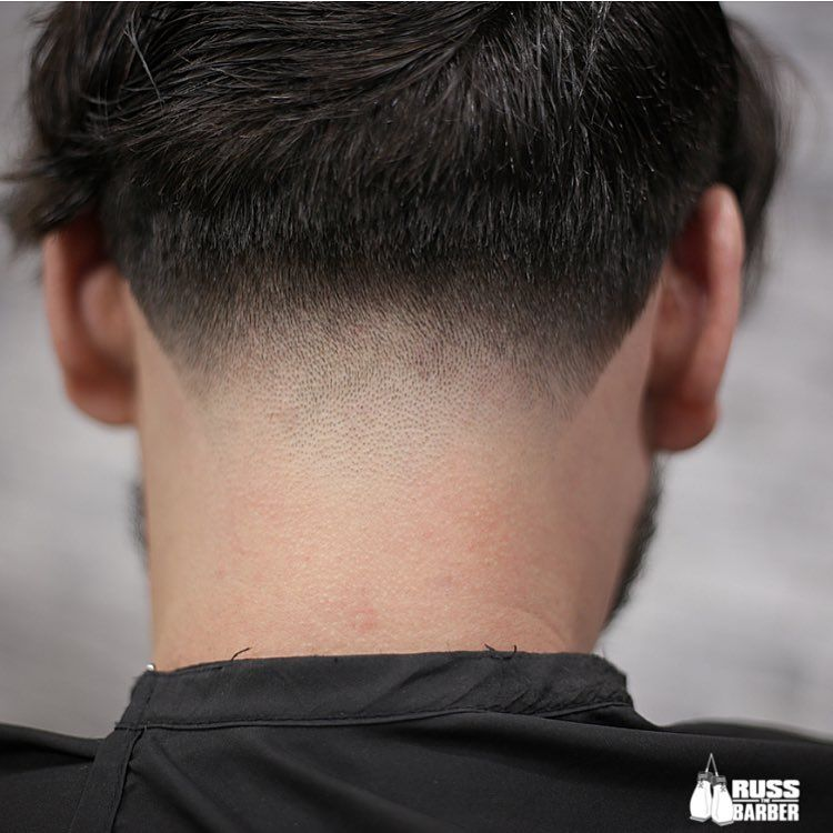 Russthebarber Neck Taper Fade Closeup New Haircuts For Men 2017