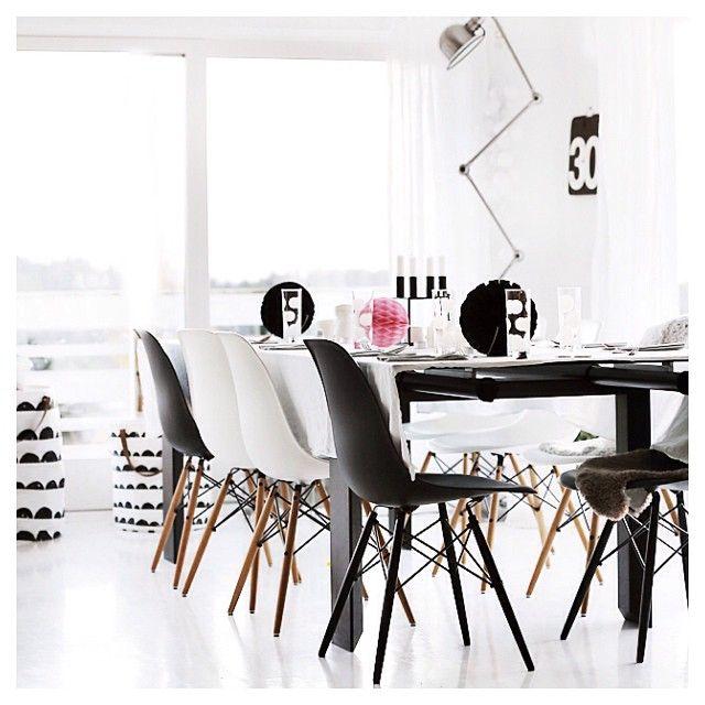 Via Forever Love Blog Black And White Ferm Living Eames