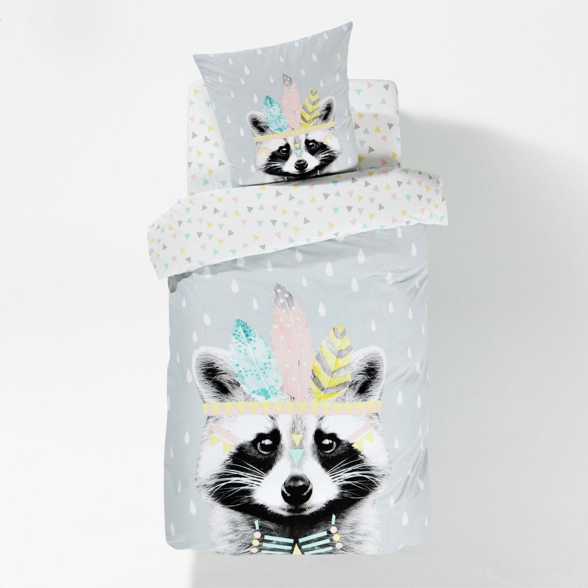 housse de couette meko eau blanche la redoute interieurs et housses de couette. Black Bedroom Furniture Sets. Home Design Ideas