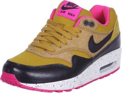 nike air max 1 premium w schoenen beige roze