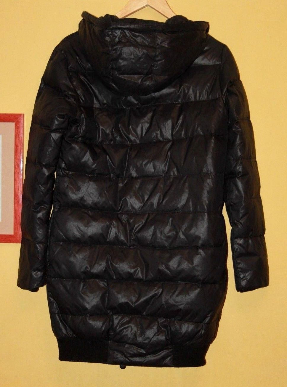 Moncler Pop Star Black Down Puffer Hooded Jacket Coat Size