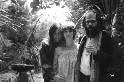 Allen Ginsberg     Self-portrait With Wallace and Shirley Berman, L.A.      1973