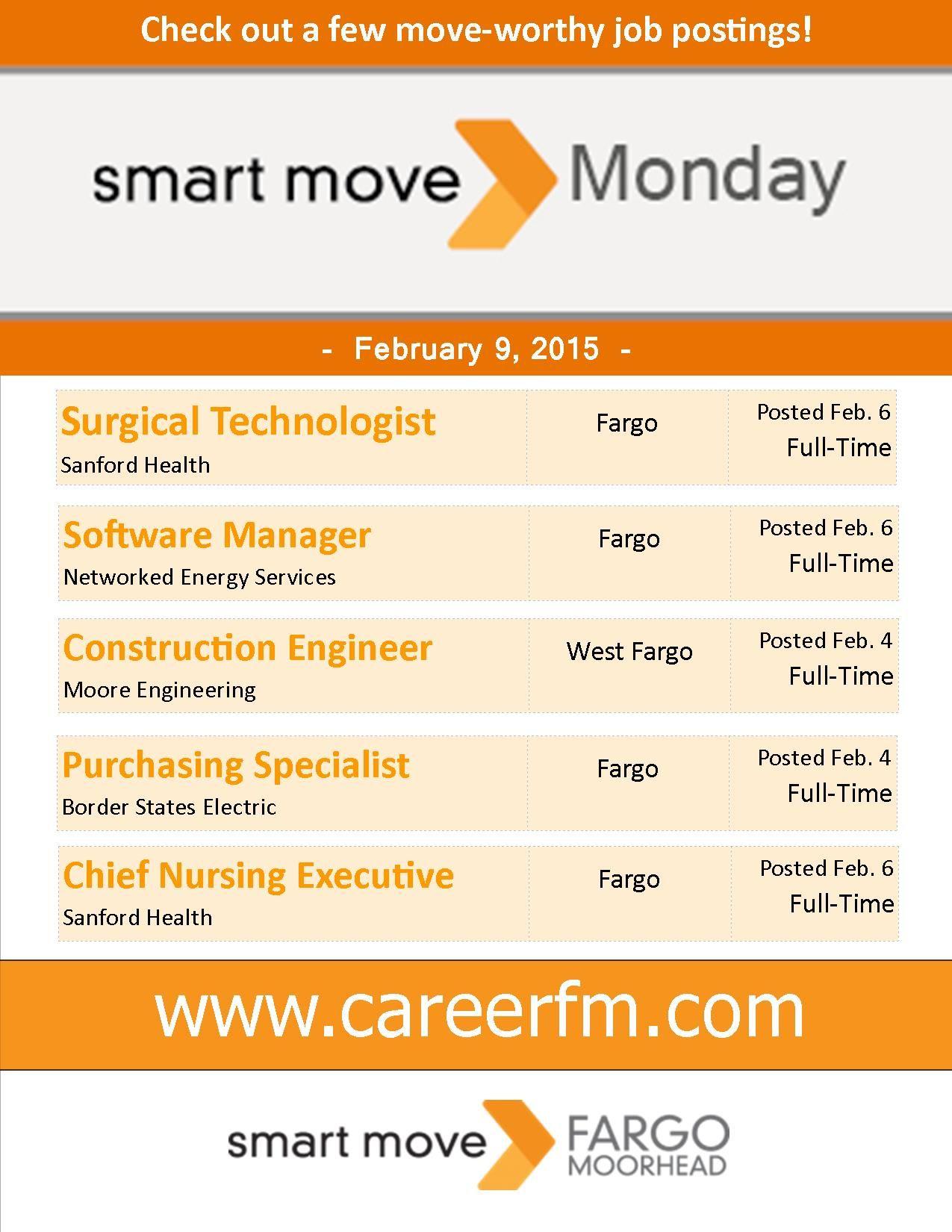 Smart move monday job posting business analyst sanford