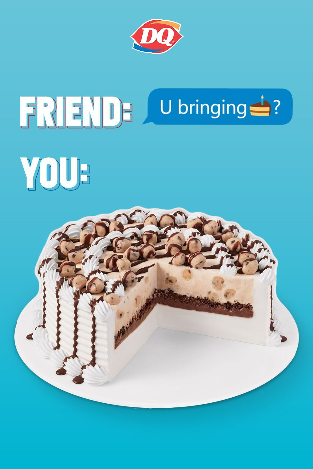 Choose from one of many delicious dq blizzard cakes to