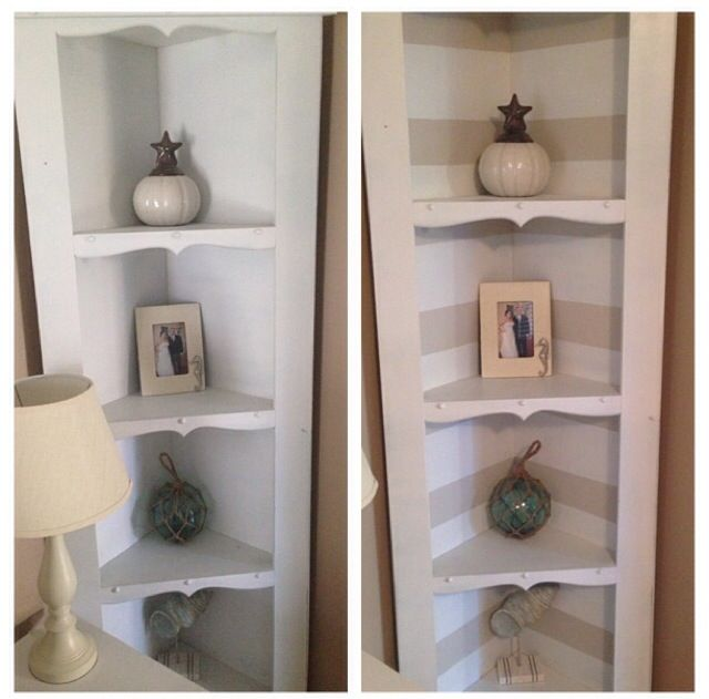 Paint Stripes To Give A Boring Shelf Life