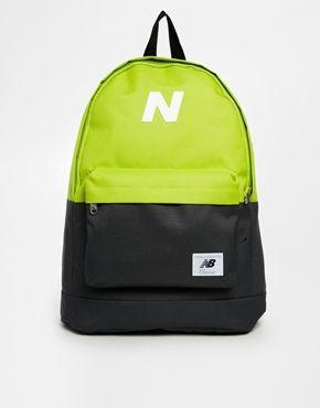 505bf3a1de1e New Balance Mellow Backpack in Lime Colour Block Bloqueo De Color
