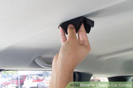 clean a car ceiling. Black Bedroom Furniture Sets. Home Design Ideas