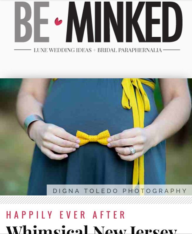 Melissa's Maternity was featured @Be Minked !  Thank you for the feature!  Maternity 2013 - Keep's Castle - NJ