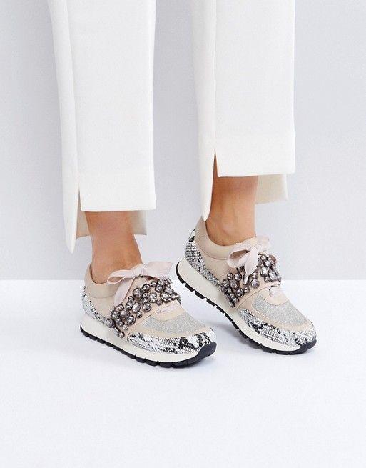 KG By Kurt Geiger Lovely Embellised Sneakers