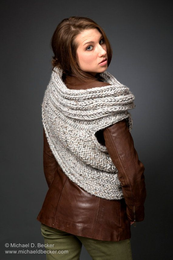 Huntress Cowl Scarf Post Apocalyptic Cowl Knitting Pattern by kysaa ...