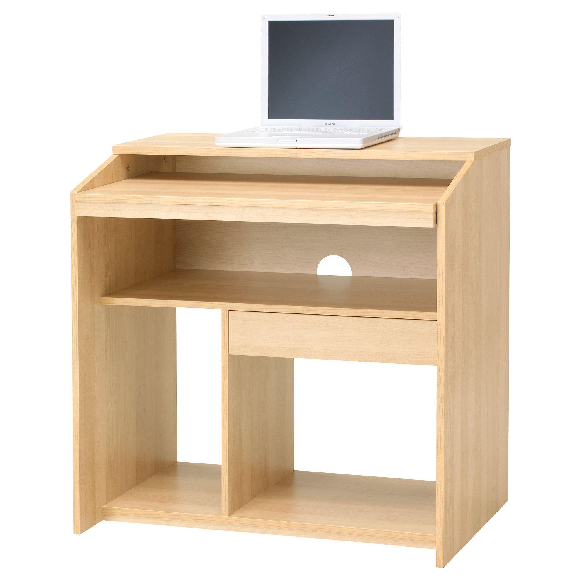 Goliat Desserte Informatique Ikea Bureau Small Computer Desk Ikea Desktop Computer Table Wood Computer Desk