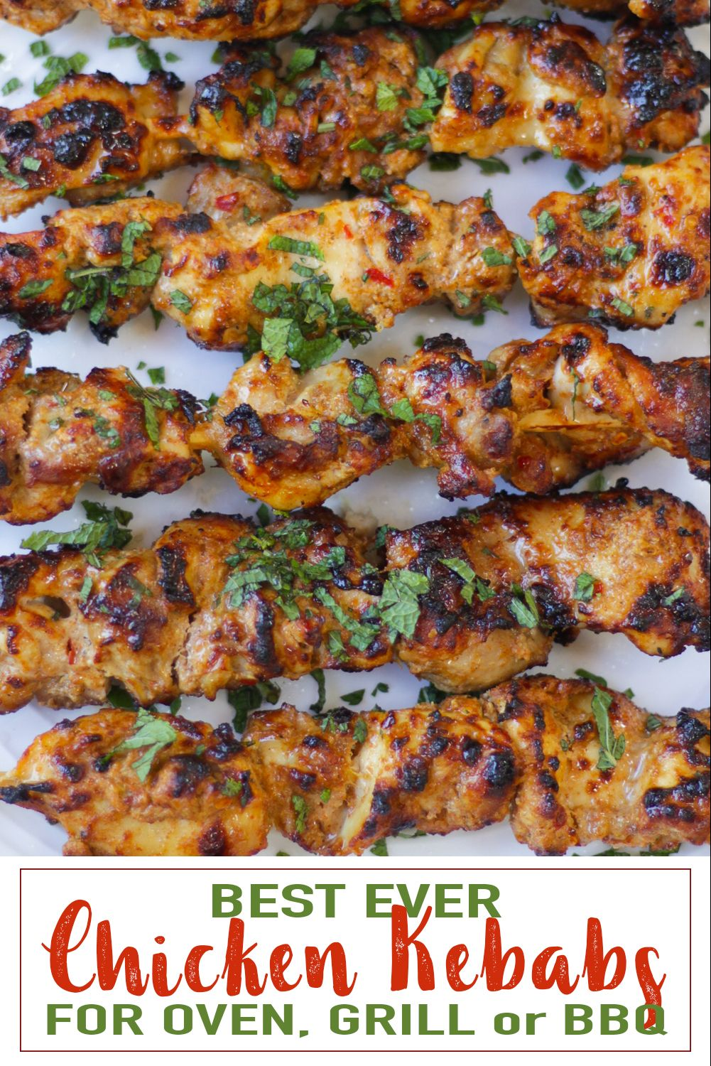 Easy And Delicious Chicken Kebab Recipe For Grill Oven Or Bbq Recipe Grilled Chicken Recipes Chicken Kebab Recipe Kebab Recipes