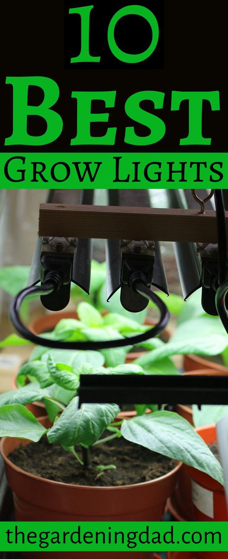 11 Best Grow Lights For All Plants Best Grow Lights 400 x 300