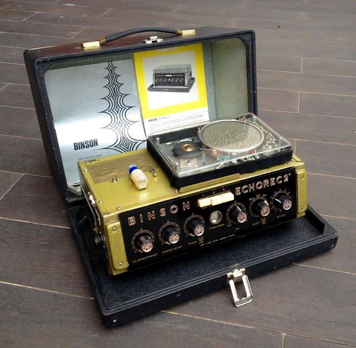 echorec tape echo unit random really in 2019 tape echo guitar pedals guitar effects pedals. Black Bedroom Furniture Sets. Home Design Ideas